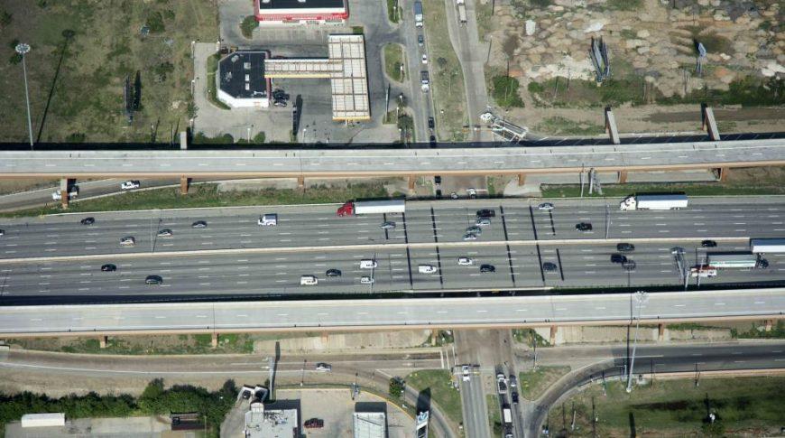 I-35 at Walnut Hill